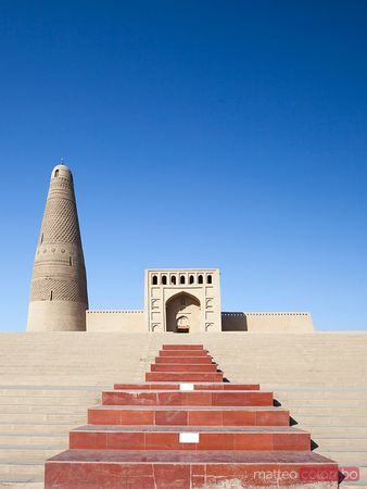 Emin minaret in Turpan, Xinjiang, China
