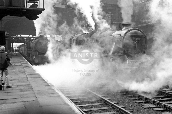 Steam loco Black 5 45259  Manchester