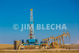 Bakken Pad Well Drilling