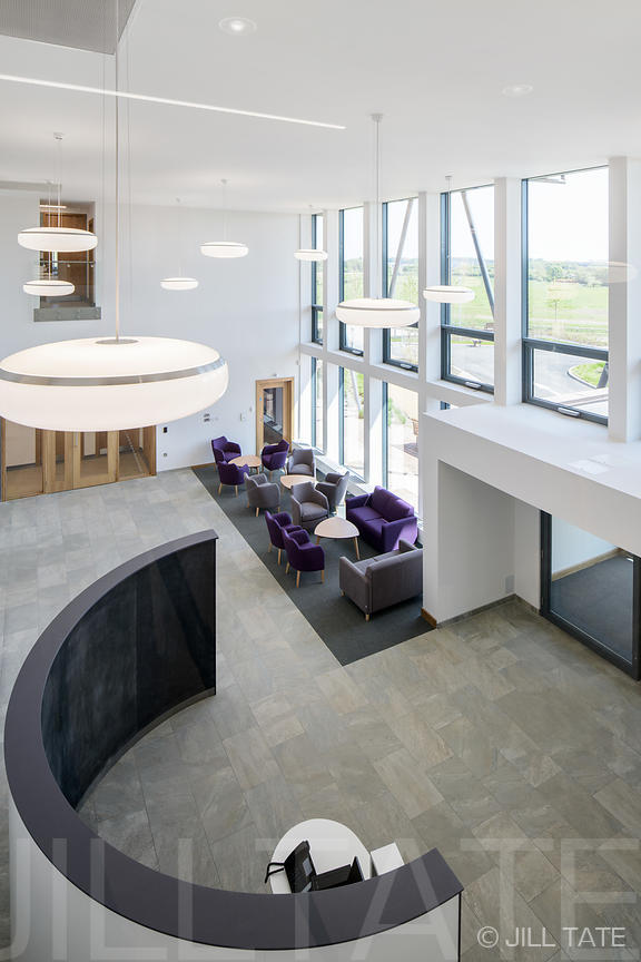 The Rutherford Cancer Centre North East | Client: Interserve