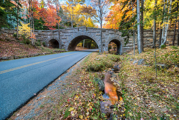 Stone Carriage Road Bridges, Acadia National Park, Maine