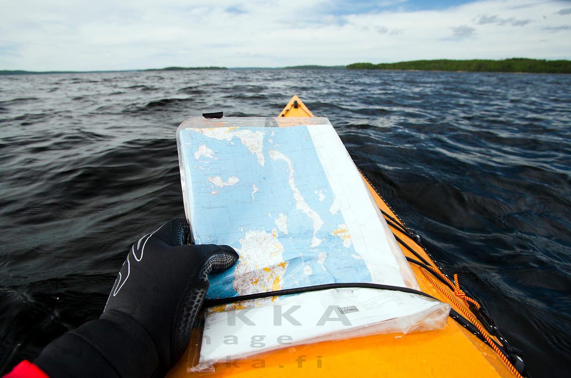 Paddler Reading Map