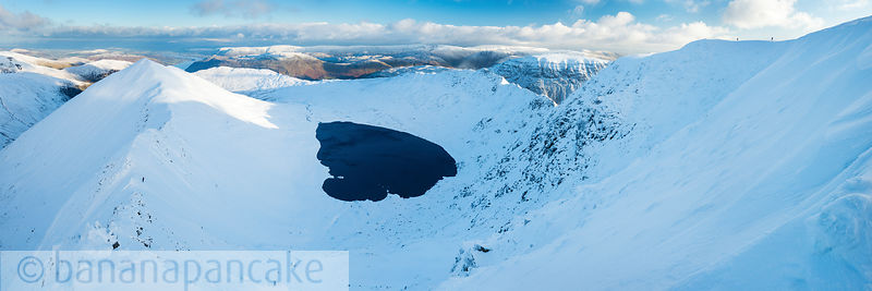 Catstye Cam, Red Tarn and Striding Edge from Helvellyn - BP3360