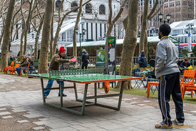 Ping Pong In Bryant Park