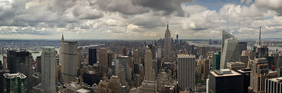 Downtown New York panorama