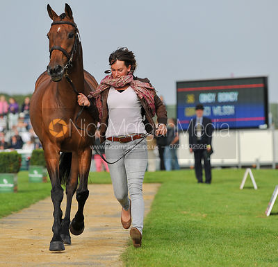 Nici Wilson and Oingy Boingy - 2nd Inspection - Burghley 2010