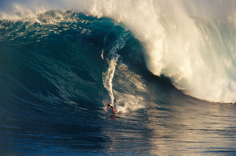Laird Hamilton waterman legend à Jaws