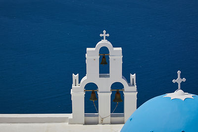 The Three bells of Fira