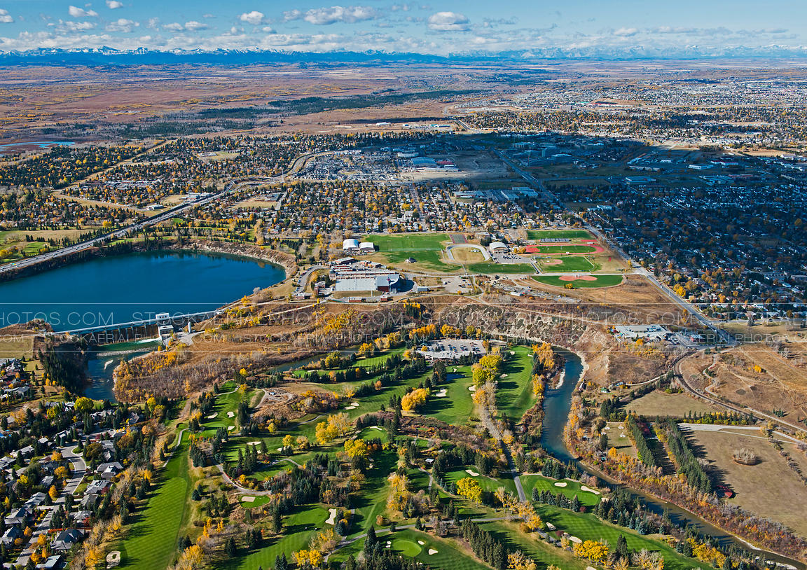 Calgary Country Club Aerials