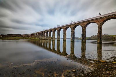 Landscape | Canvas wall art | Royal border bridge