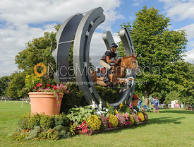 Andrew Nicholson and NEREO - cross country phase,  Land Rover Burghley Horse Trials, 7th September 2013.