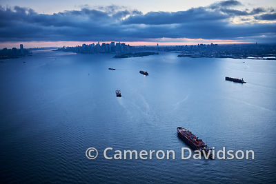 New York Harbor - Aerial