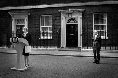 Theres May, Downing St, London, Jason Bye, 13/07/16