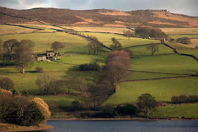 Farm near Ladybower reservoir