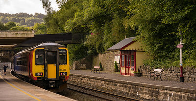 Train at Matlock