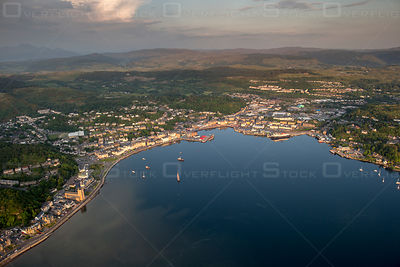 West Coast Argyll. Seaport and Ferry Terminal Oban Scotland