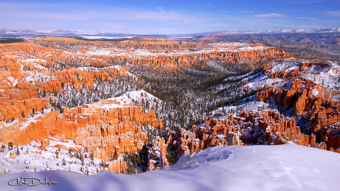Winter Atop Bryce
