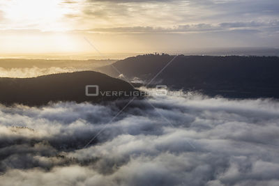 Cloud Covered Deep Cove North Vancouver