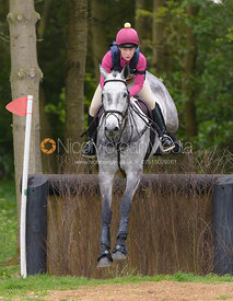 Antonia Shaw and URLANMORE FRIENDLY - Brigstock International Horse Trials, Rockingham Castle 2014