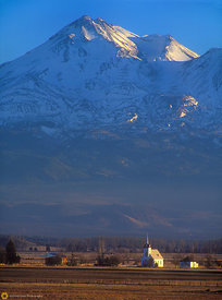 Mt. Shasta & Little Shasta Church #4