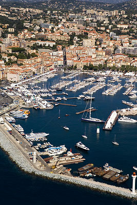 Cannes Harbour, France.