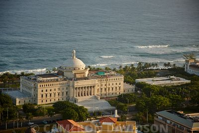The Capitol Building, Old San Juan, Commonwealth of Puerto Rico.