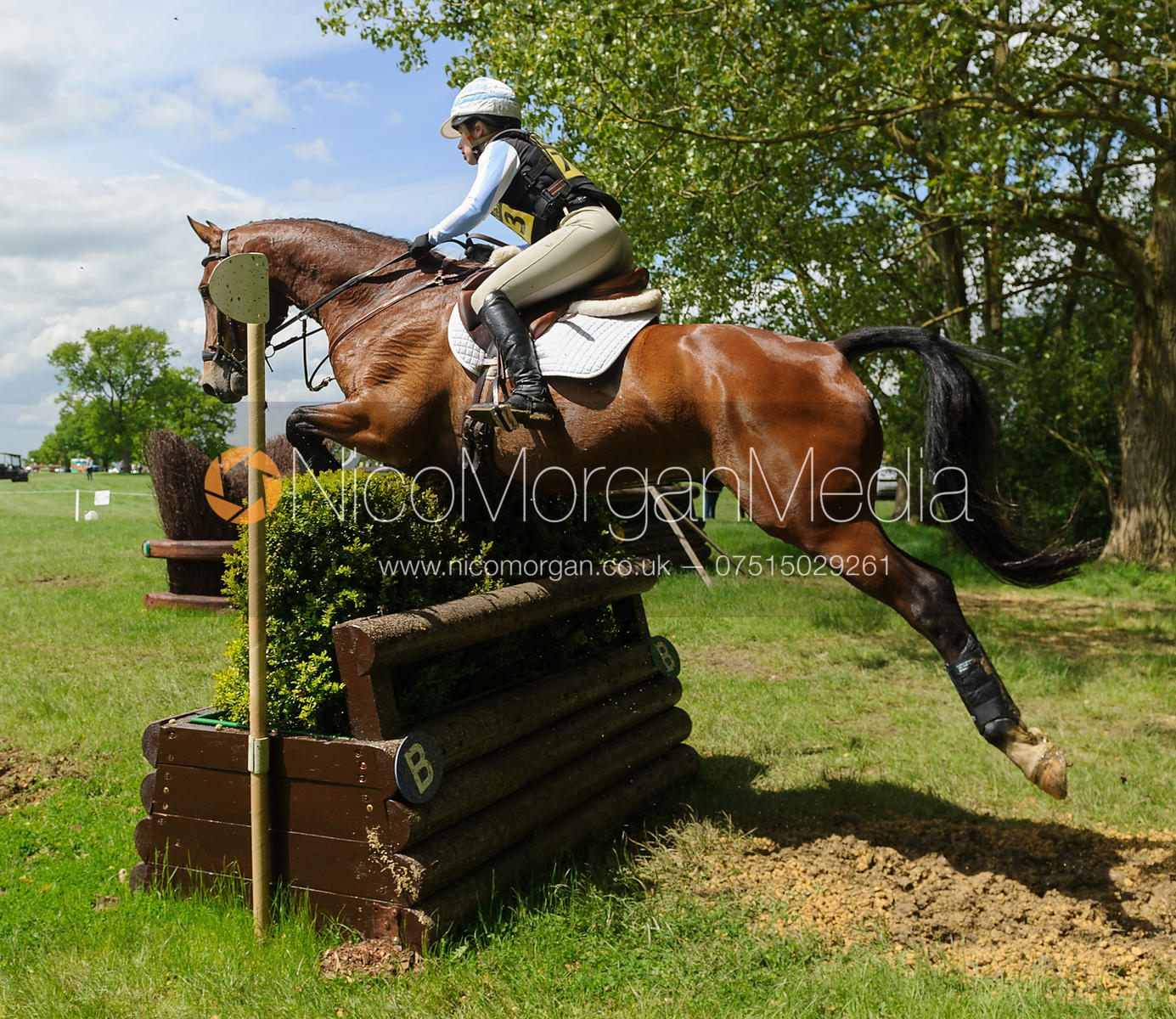Megan Heath and  CAMELOT - Rockingham Castle International Horse Trials 2016