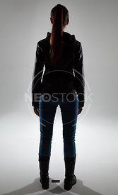 Elena Cinematic Thriller Stock Photography