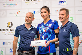 Middle Blocker: Pattaya Bamrungsuk