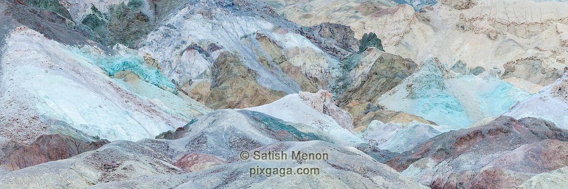 Artist's Palette, Death Valley National Park, California, USA