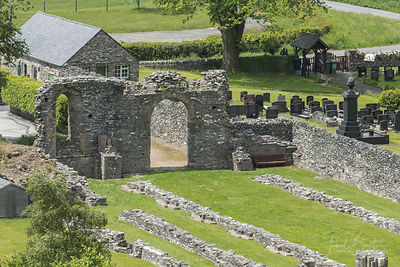 Strata Florida abbey & St Mary's Church