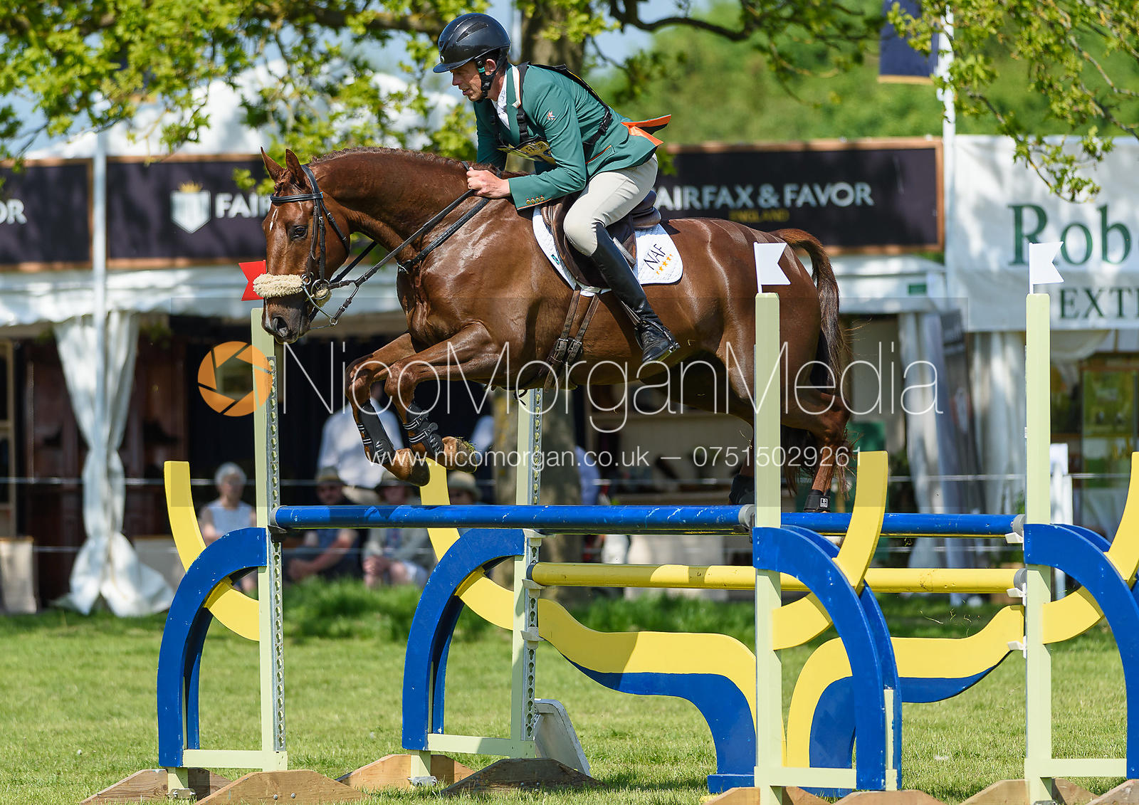 Jonty Evans and JOHN THE BULL, Fairfax & Favor Rockingham Horse Trials 2018