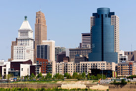Cincinnati Downtown City Buildings Cityscape