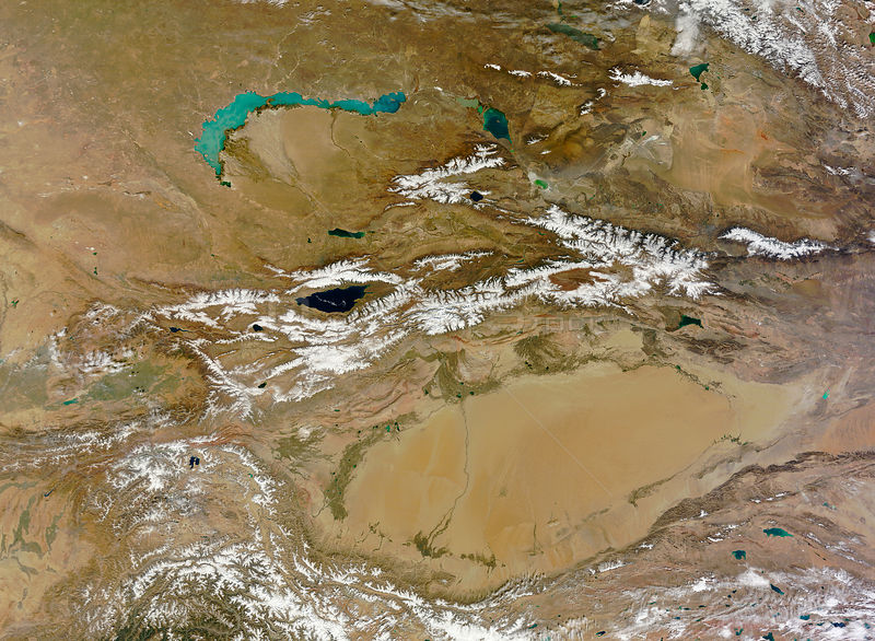 EARTH Central Asia -- 09 Oct 2012 -- The Himalayas - which began forming about 50 million years ago when the Indian subcontin...