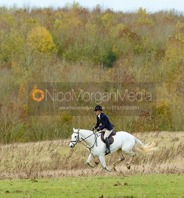 at Stone Lodge. The Cottesmore Hunt at Tilton