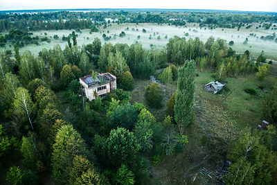 Abandoned farm in the Chernobyl Exlusion Zone, Ukraine September