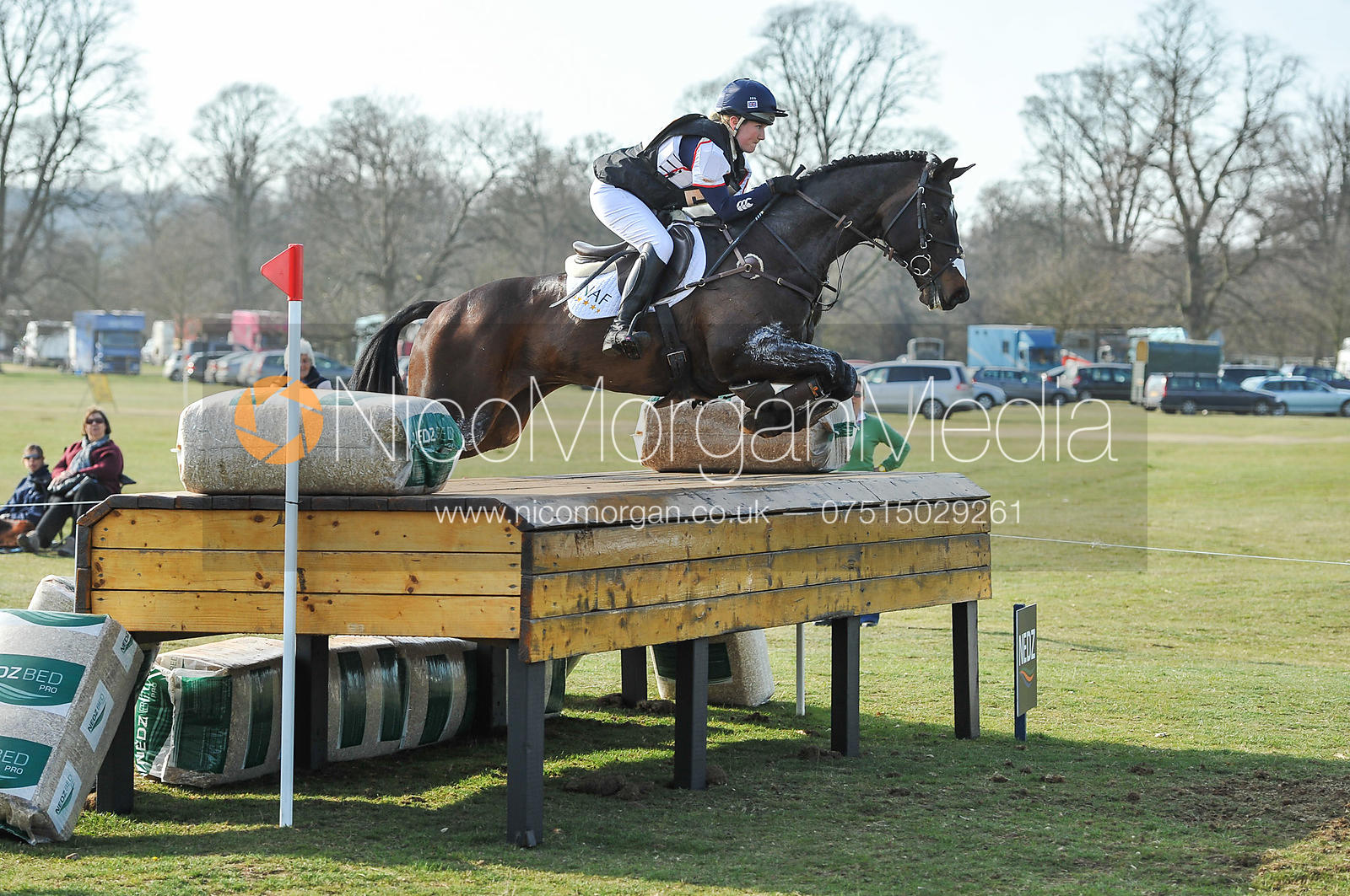 Laura Collett and RAYEF - Belton Horse Trials 2012
