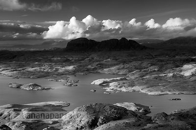 Suilven and Loch Sionascaig - BP3093BW
