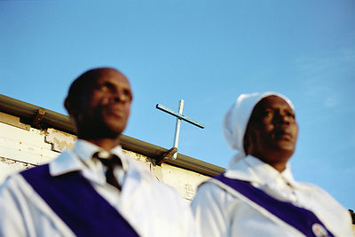 The Worshippers, Gugulethu, South Africa