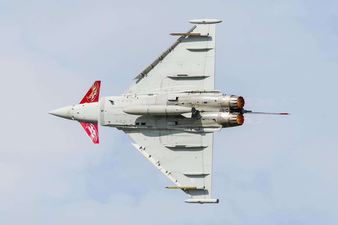 RAF Typhoon display