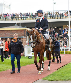 Jackie Potts, William Fox-Pitt and CHILLI MORNING - Champions Willberry Charity Flat Race - Cheltenham Racecourse, April 20th...