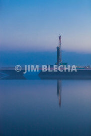 Drill Rig Reflections