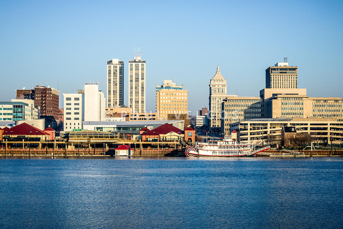 Peoria Skyline and Downtown City Buildings