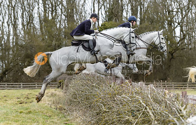 The Cottesmore Hunt at Ladywood 13/2