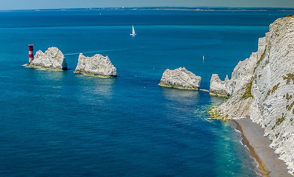 Aerial View of the Needles, Isle of Wight