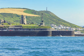 Aberystwyth castle and Pendinas