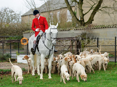 The Cottesmore Hunt at Barleythorpe 22/12
