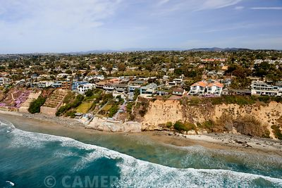 Aerial USA California Photograph Coastline