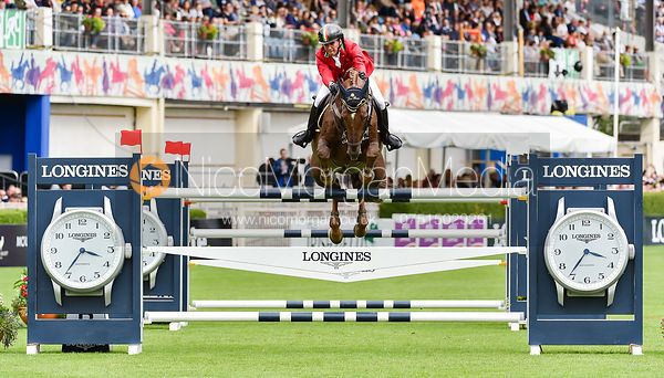 Luigi Polesello and PANAMA TAME - FEI Nations Cup, Dublin Horse Show 2017