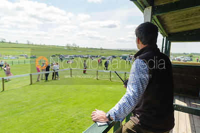 Checking the course - Meynell and South Staffs at Garthorpe, 2nd June 2013